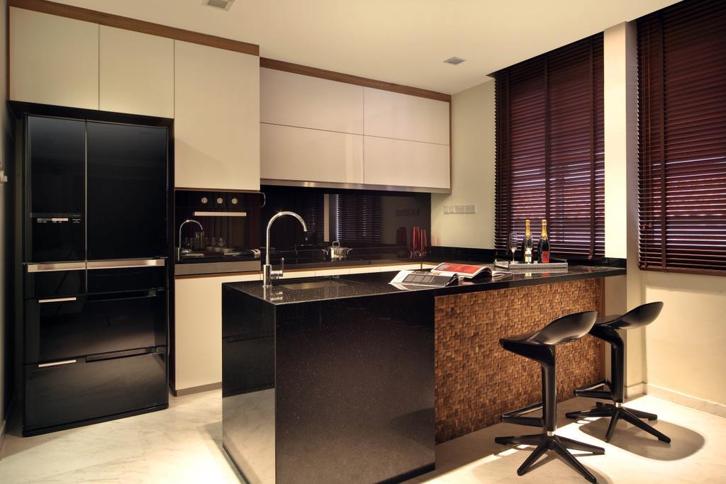 Traditional, Landed, Kitchen, Jurong Kechil, Interior Designer, Neu Konceptz