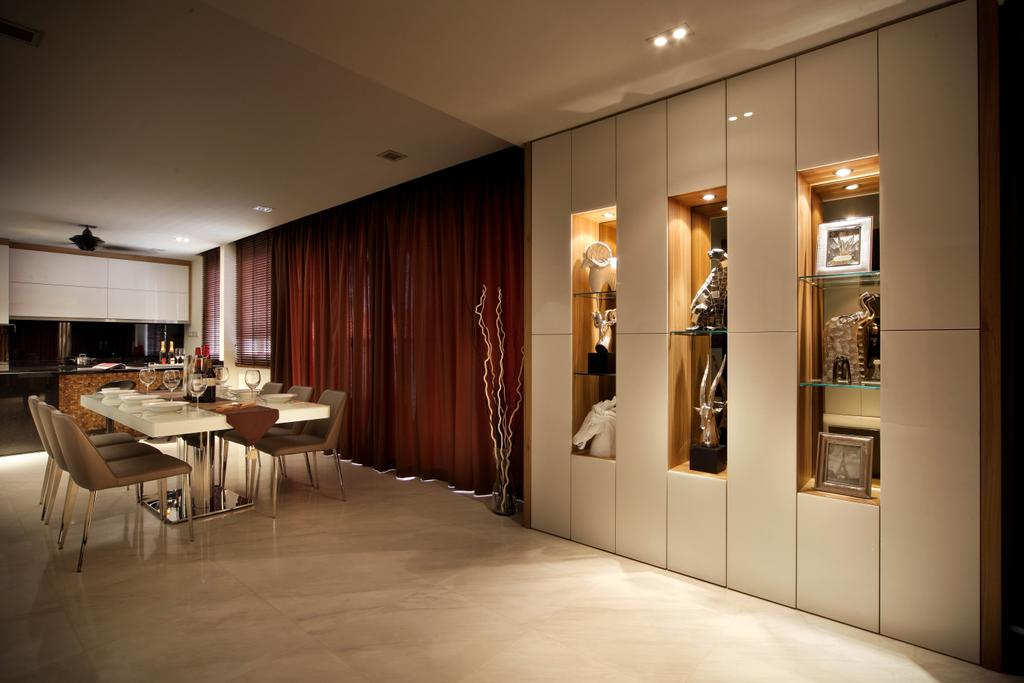 Traditional, Landed, Dining Room, Jurong Kechil, Interior Designer, Neu Konceptz