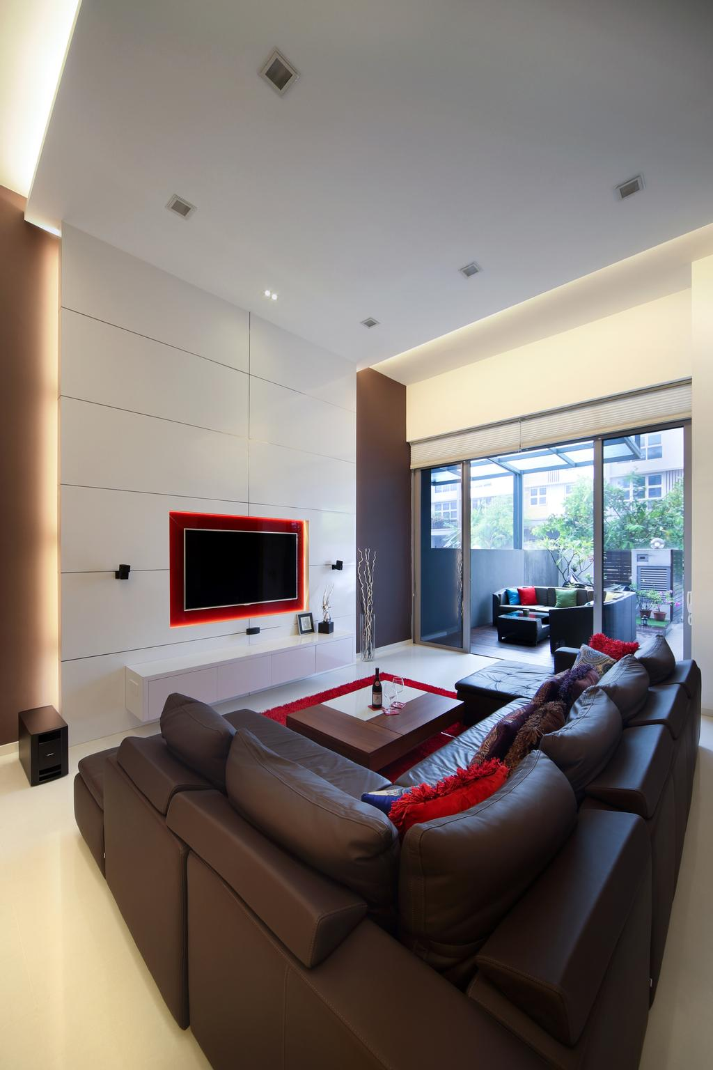 Transitional, Landed, Living Room, Penaga Place, Interior Designer, Neu Konceptz