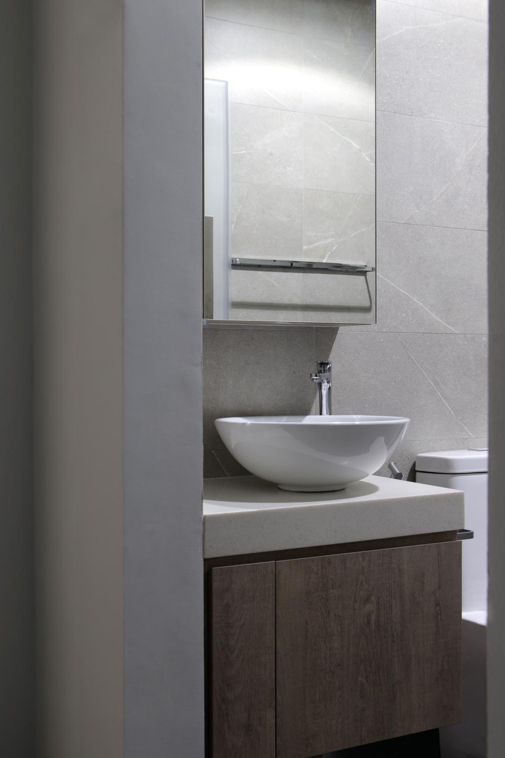 Contemporary, HDB, Bathroom, Tampines Street 71, Interior Designer, Neu Konceptz