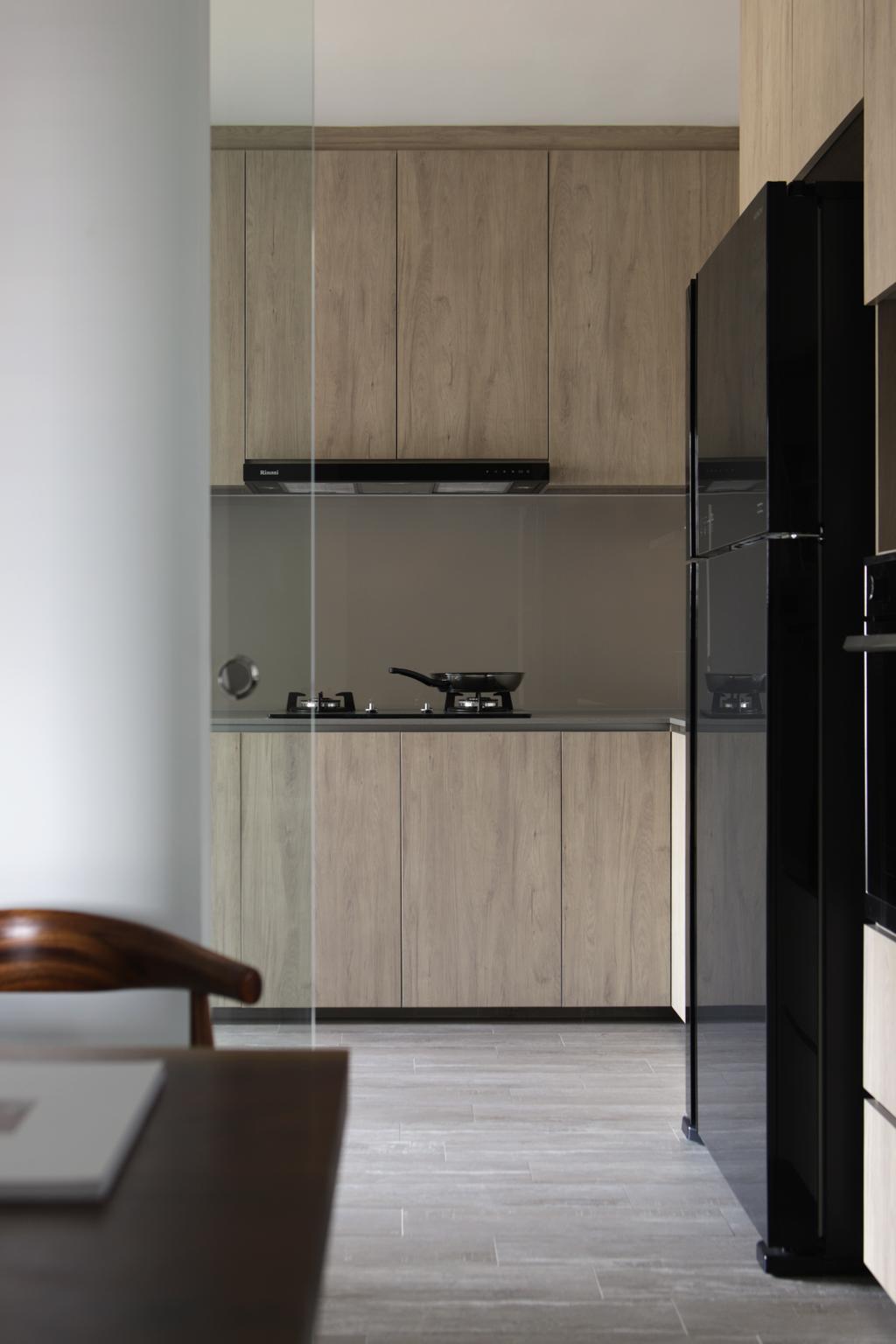 Contemporary, HDB, Kitchen, Tampines Street 71, Interior Designer, Neu Konceptz
