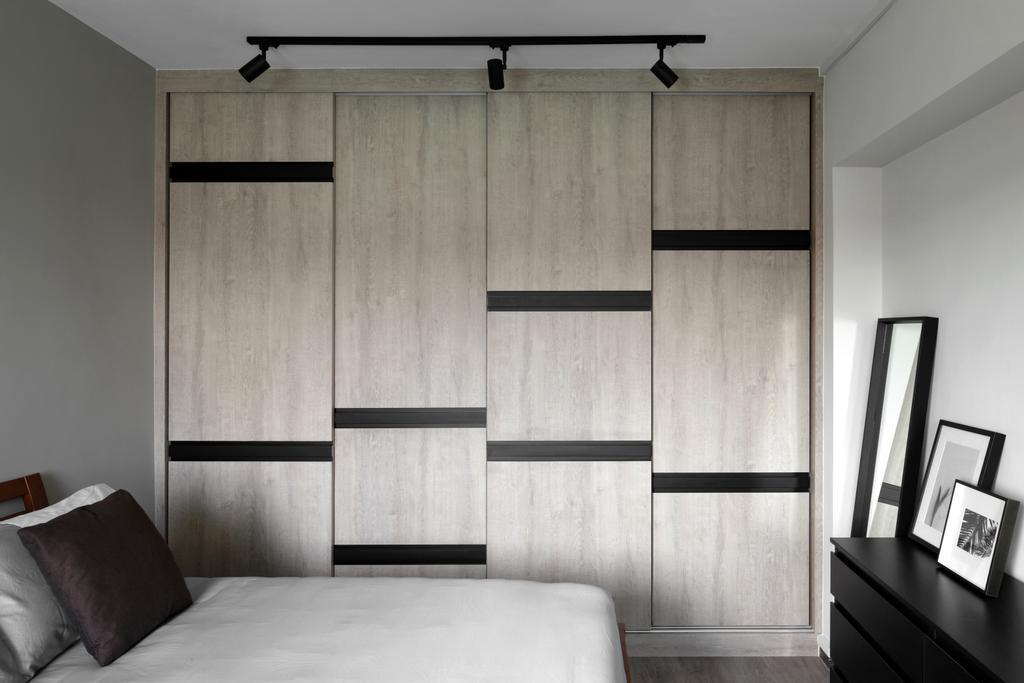 Contemporary, HDB, Bedroom, Tampines Street 71, Interior Designer, Neu Konceptz