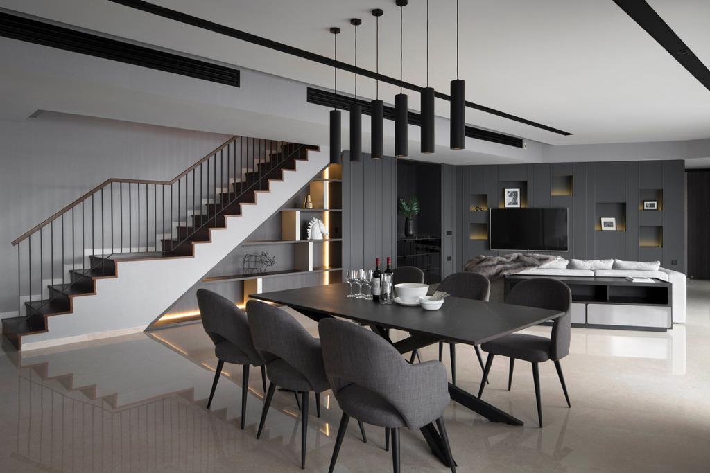 Contemporary, Condo, Living Room, The Interlace, Interior Designer, Neu Konceptz