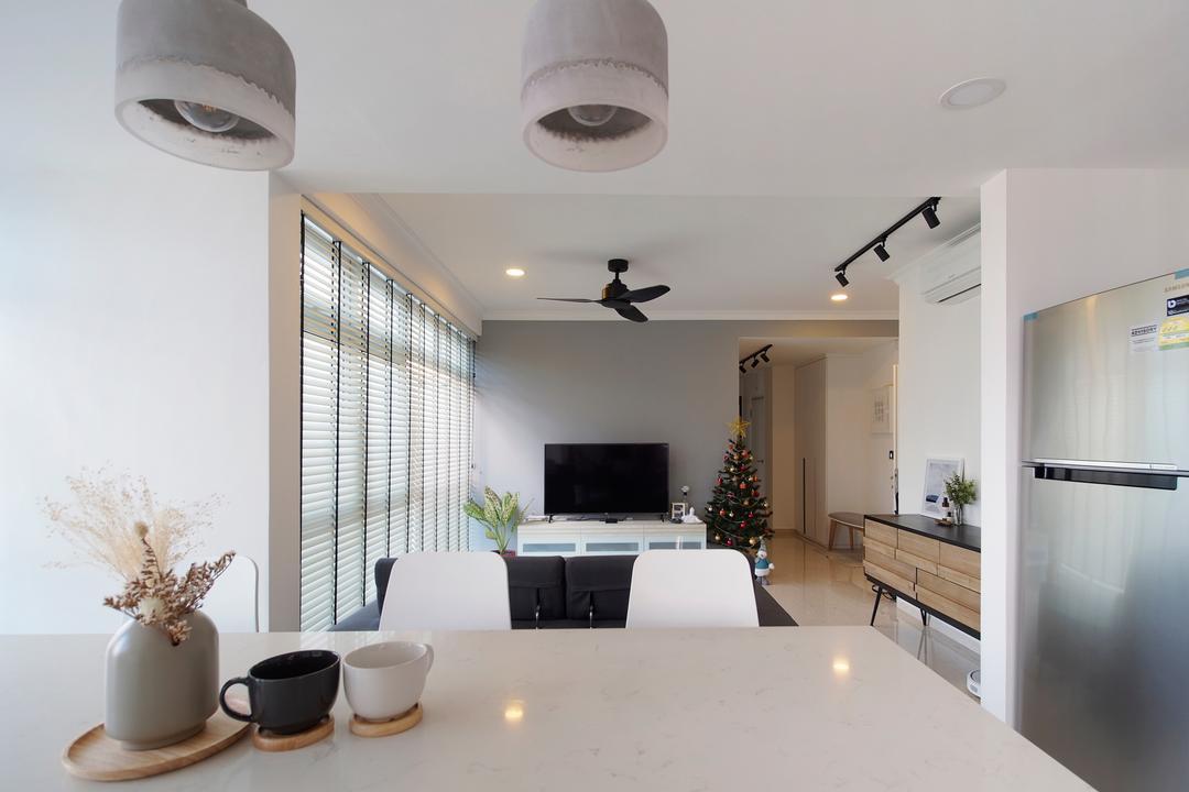 Breezy Mansions Living Room Interior Design 1