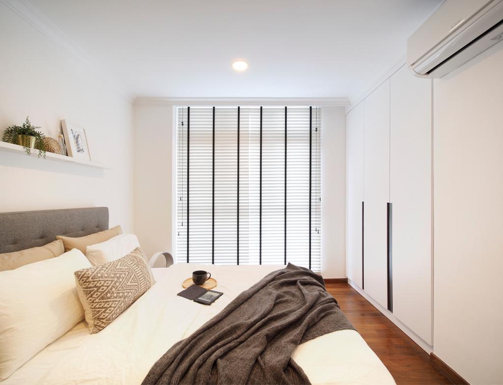 Scandinavian, Condo, Bedroom, Breezy Mansions, Interior Designer, Urban Habitat Design