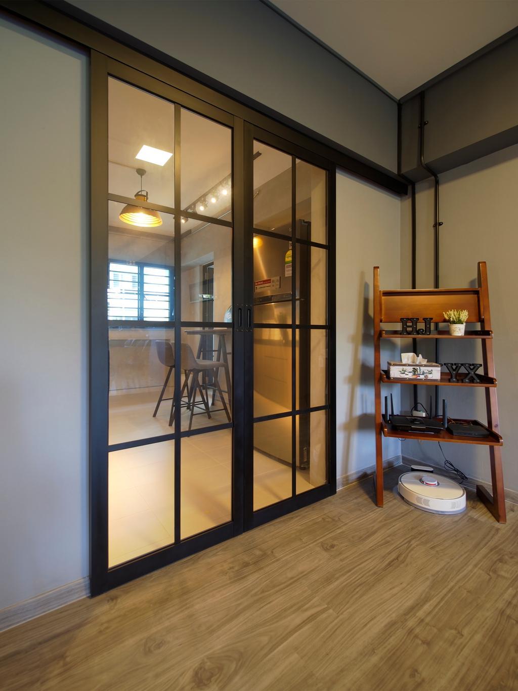 Contemporary, HDB, Tampines Avenue 8, Interior Designer, Urban Habitat Design