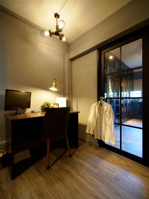 Contemporary, HDB, Study, Tampines Avenue 8, Interior Designer, Urban Habitat Design