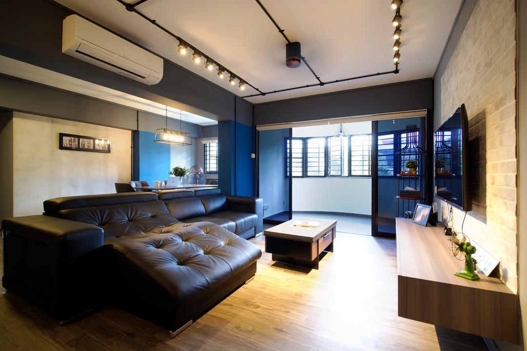 Tampines Avenue 1 Living Room Interior Design 5