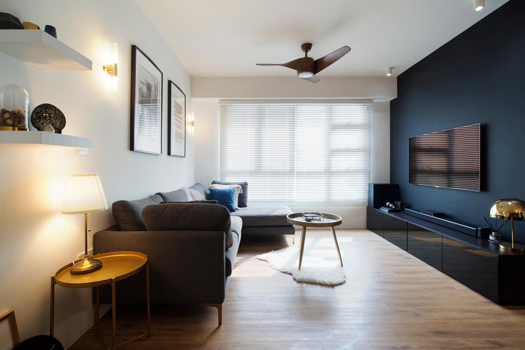 Clementi Avenue 4 Living Room Interior Design 3