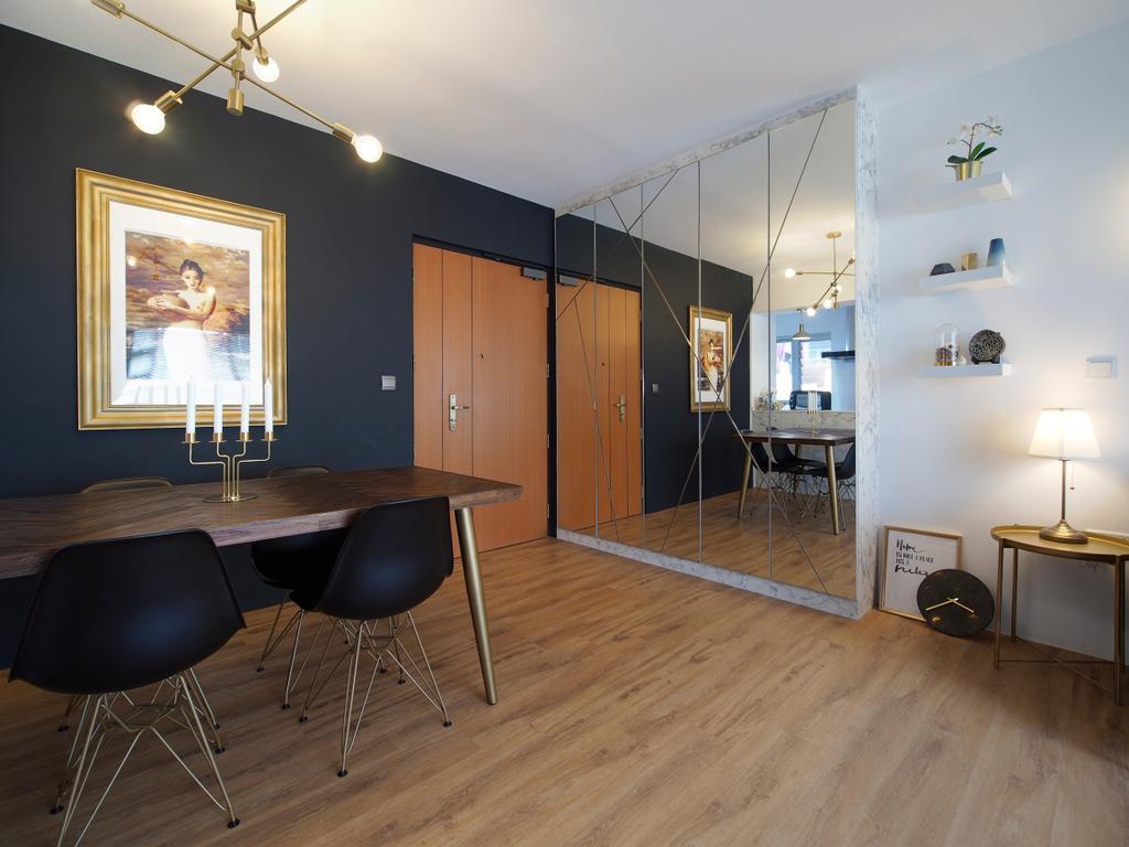 Contemporary, HDB, Dining Room, Clementi Avenue 4, Interior Designer, Urban Habitat Design