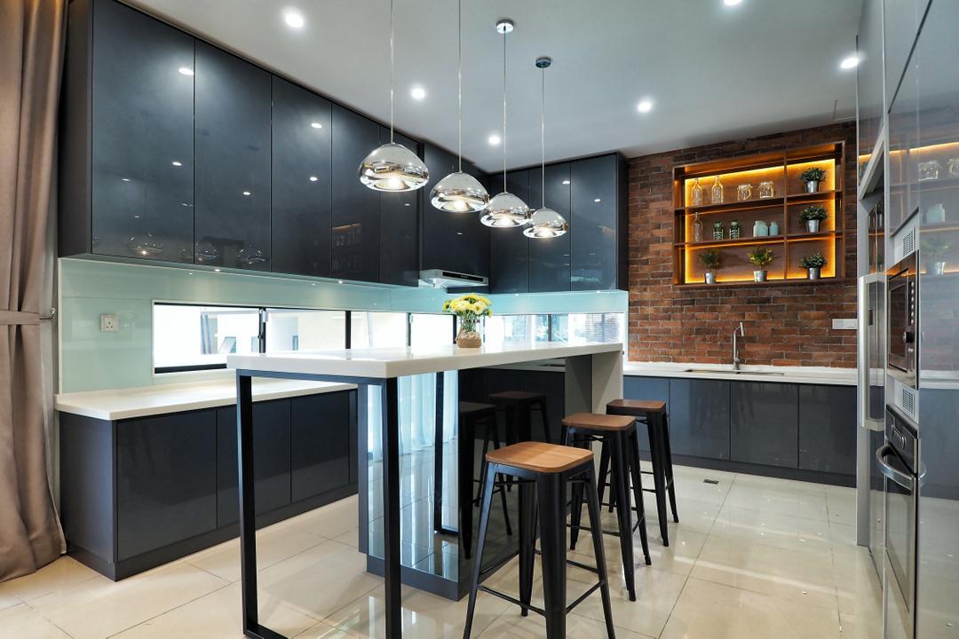 Brighten Up A Dark, Gloomy Kitchen