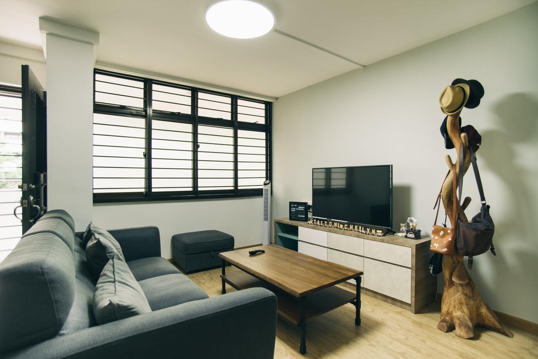 Hougang Street 91 Living Room Interior Design 3