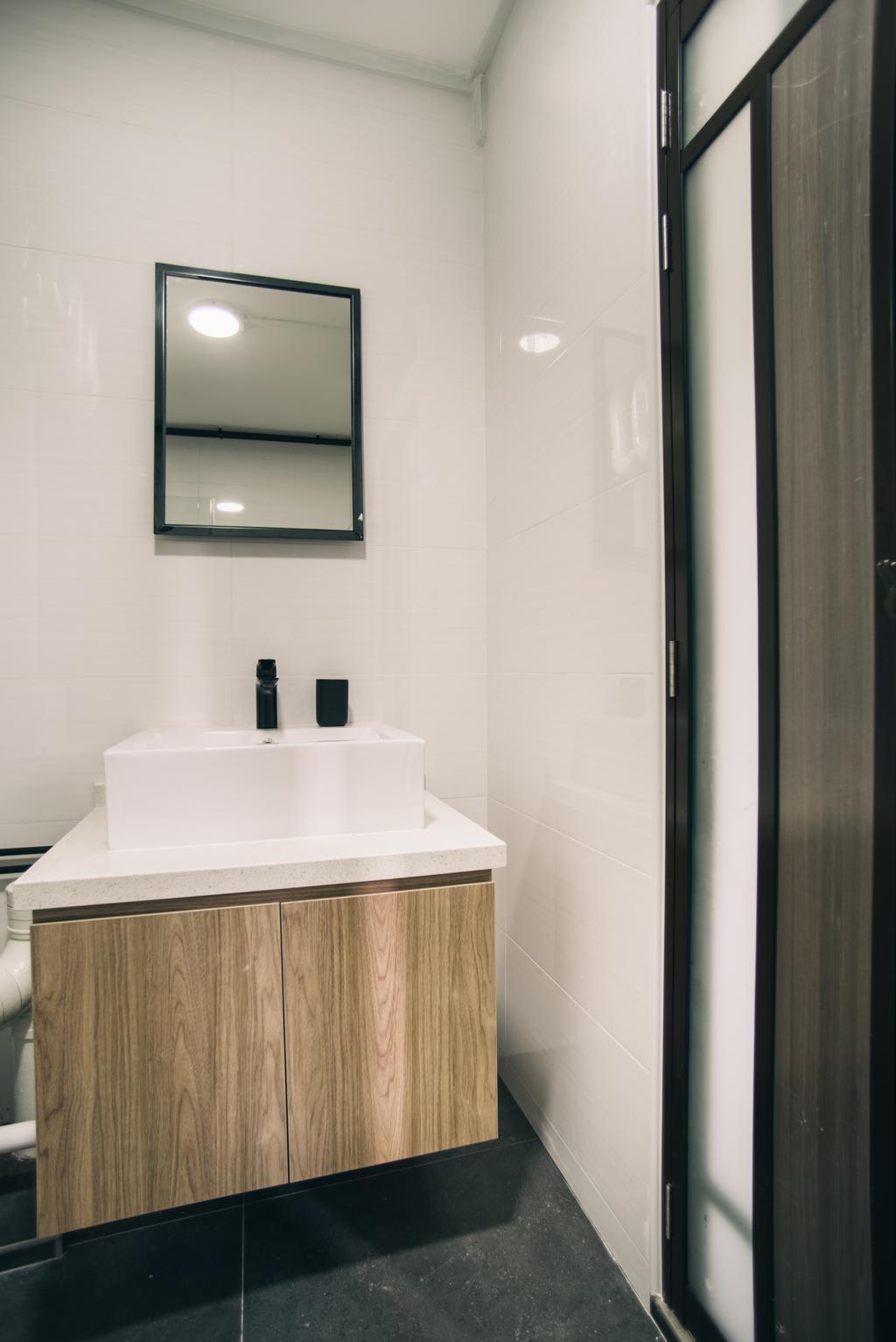 Scandinavian, HDB, Bathroom, Hougang Street 91, Interior Designer, Urban Habitat Design