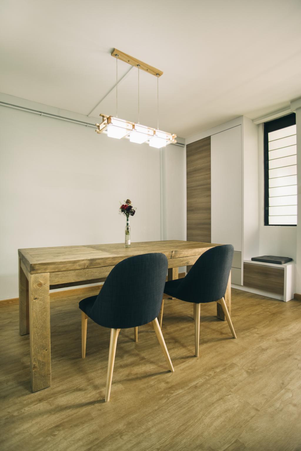 Scandinavian, HDB, Dining Room, Hougang Street 91, Interior Designer, Urban Habitat Design
