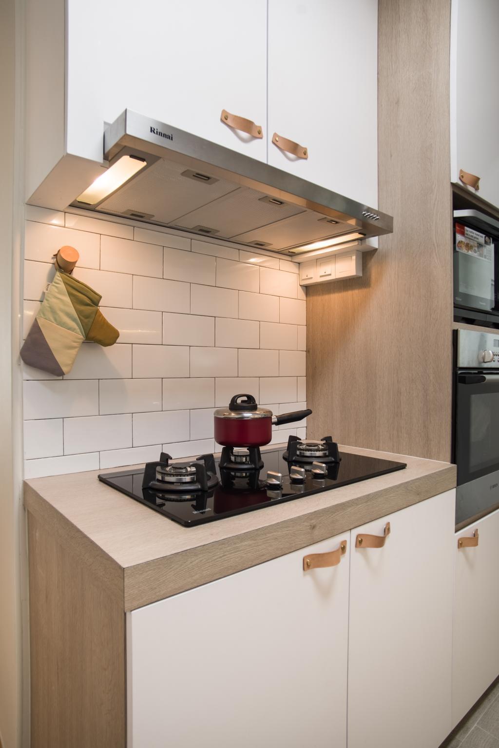 Scandinavian, HDB, Kitchen, Upper Serangoon Road, Interior Designer, Urban Habitat Design