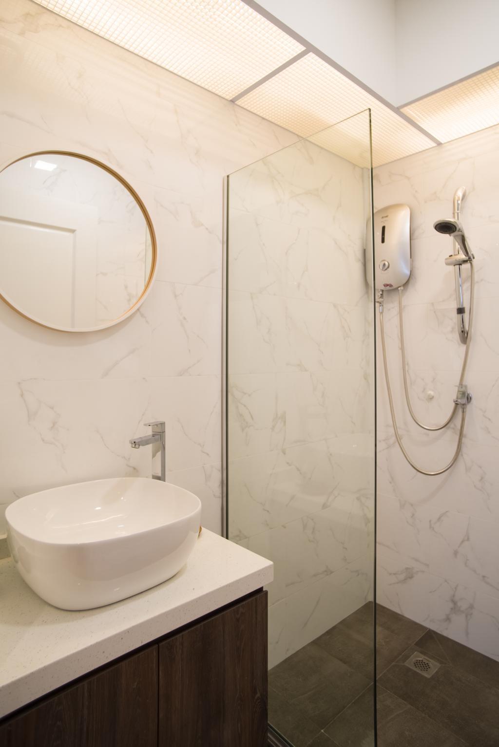 Scandinavian, HDB, Bathroom, Upper Serangoon Road, Interior Designer, Urban Habitat Design