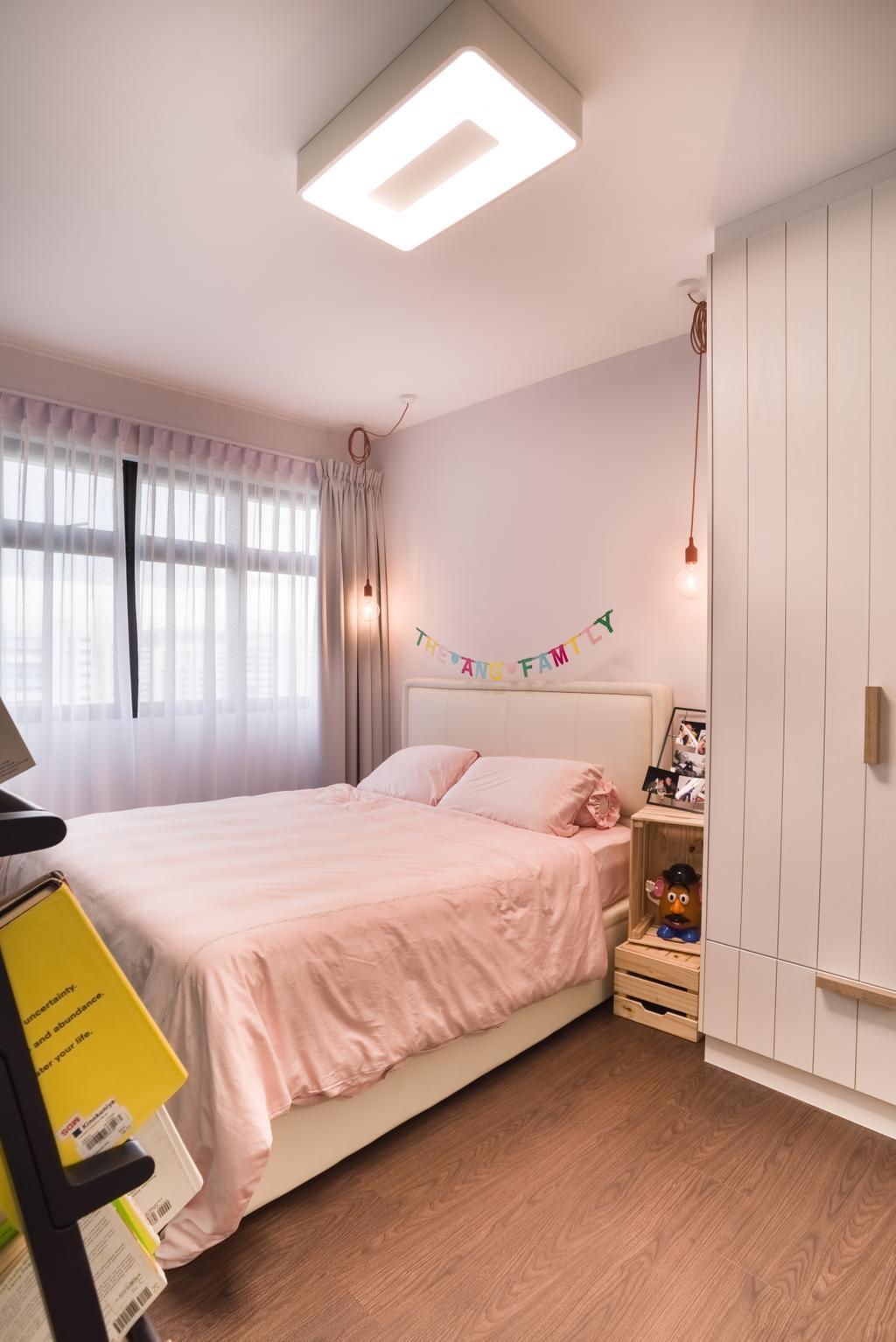 Scandinavian, HDB, Bedroom, Upper Serangoon Road, Interior Designer, Urban Habitat Design