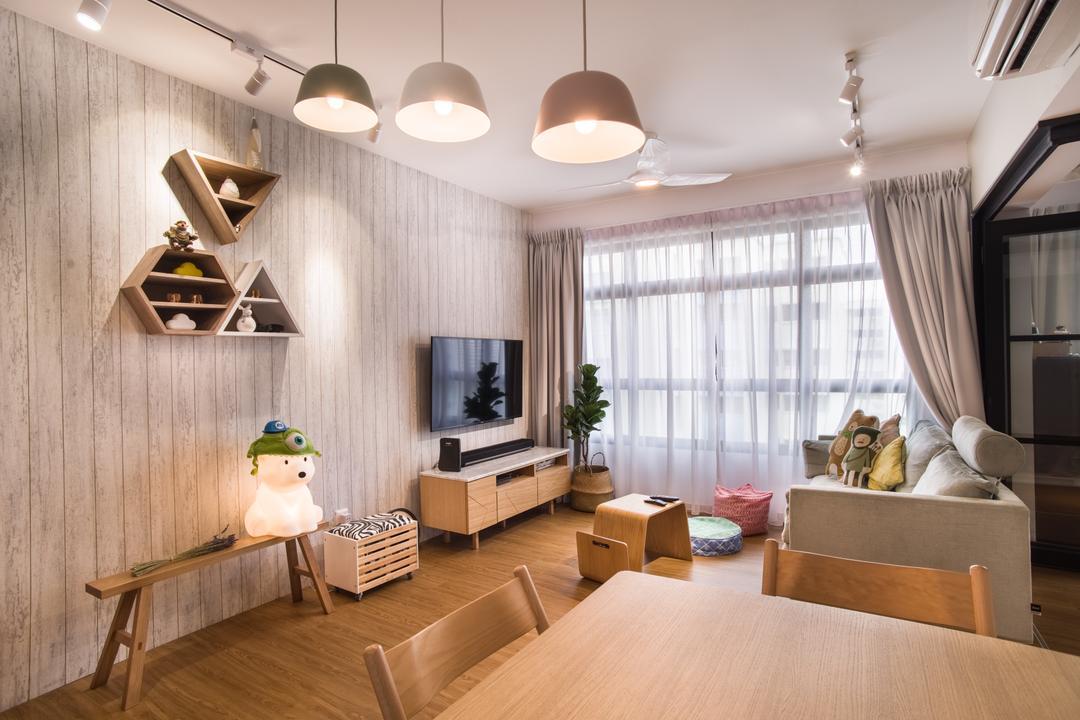 Upper Serangoon Road Living Room Interior Design 9