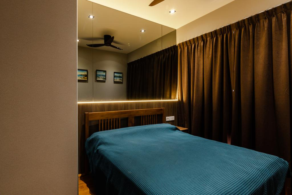 Contemporary, Condo, Bedroom, Trilive, Interior Designer, 9 Creation