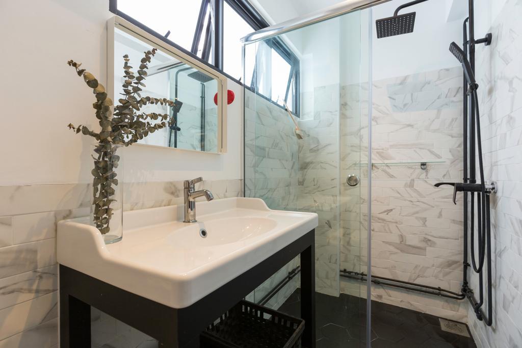Contemporary, HDB, Bathroom, Shunfu Road, Interior Designer, Charlotte's Carpentry