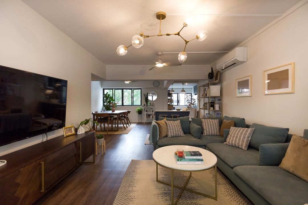 Shunfu Road Living Room Interior Design 7