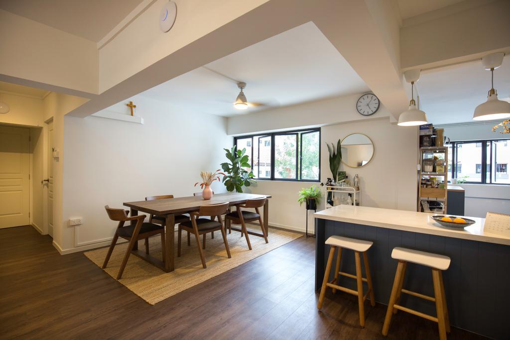 Contemporary, HDB, Dining Room, Shunfu Road, Interior Designer, Charlotte's Carpentry