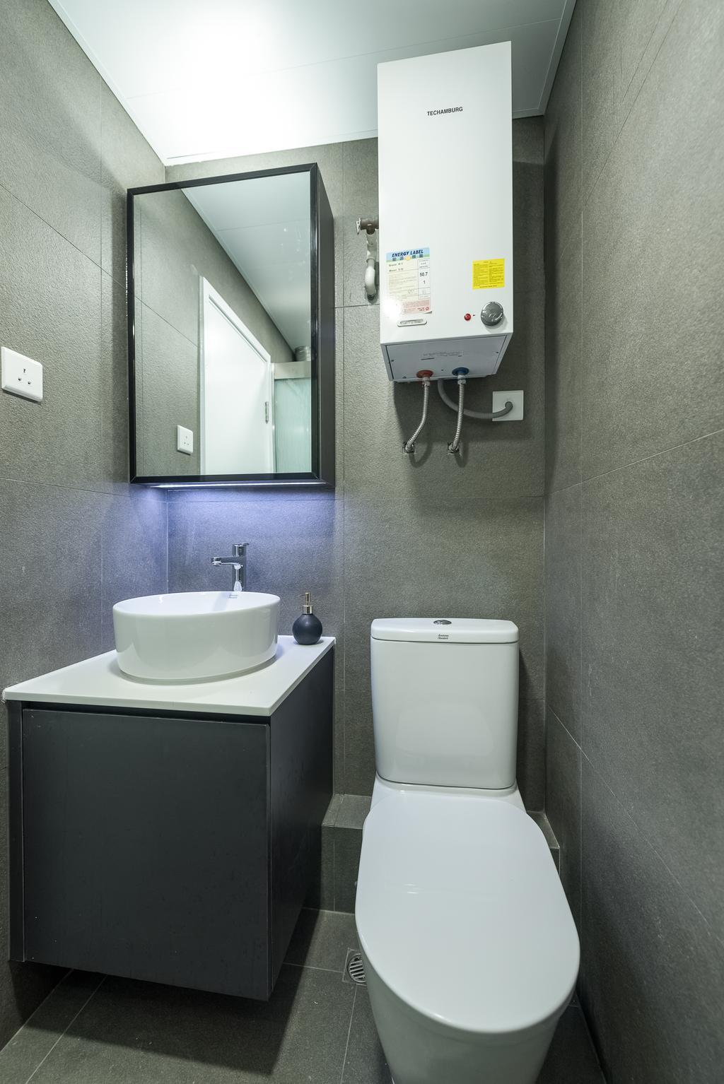 簡約, 私家樓, 浴室, 順利大廈, 室內設計師, Deco Farmer Studio