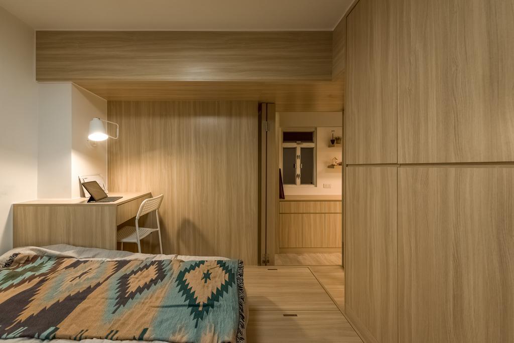 簡約, 私家樓, 睡房, 順利大廈, 室內設計師, Deco Farmer Studio