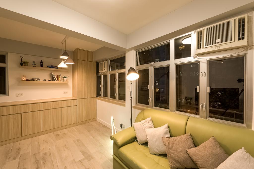 簡約, 私家樓, 客廳, 順利大廈, 室內設計師, Deco Farmer Studio
