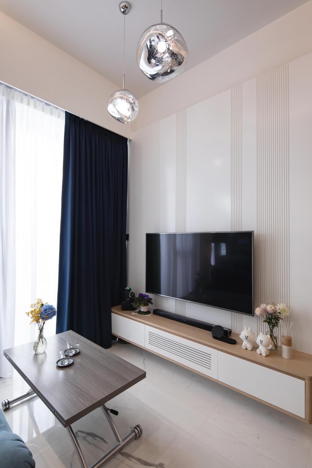 北歐, 私家樓, 客廳, 元朗尚悅, 室內設計師, Magis Design Studio