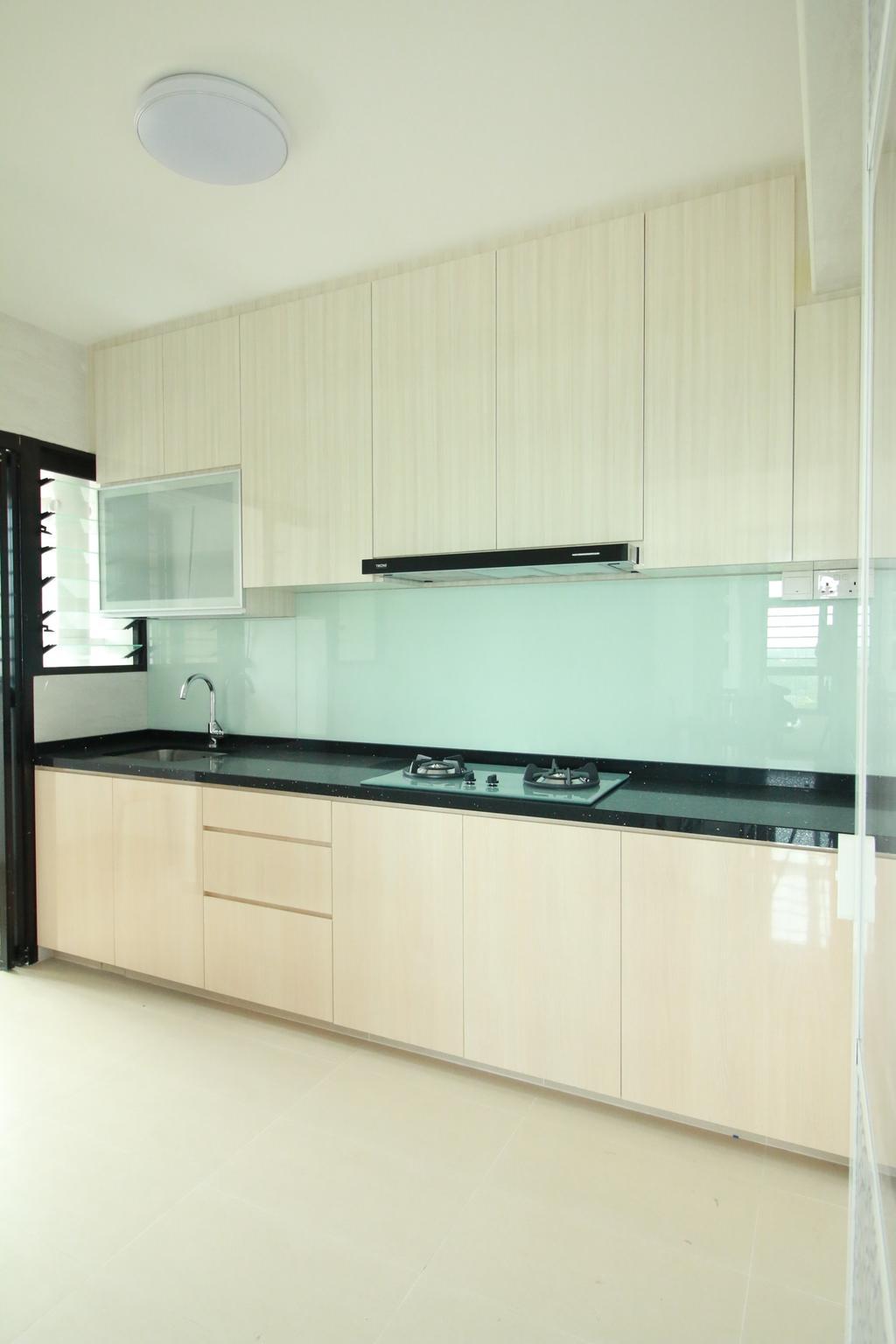 Modern, HDB, Kitchen, Buangkok Crescent, Interior Designer, Our Interior