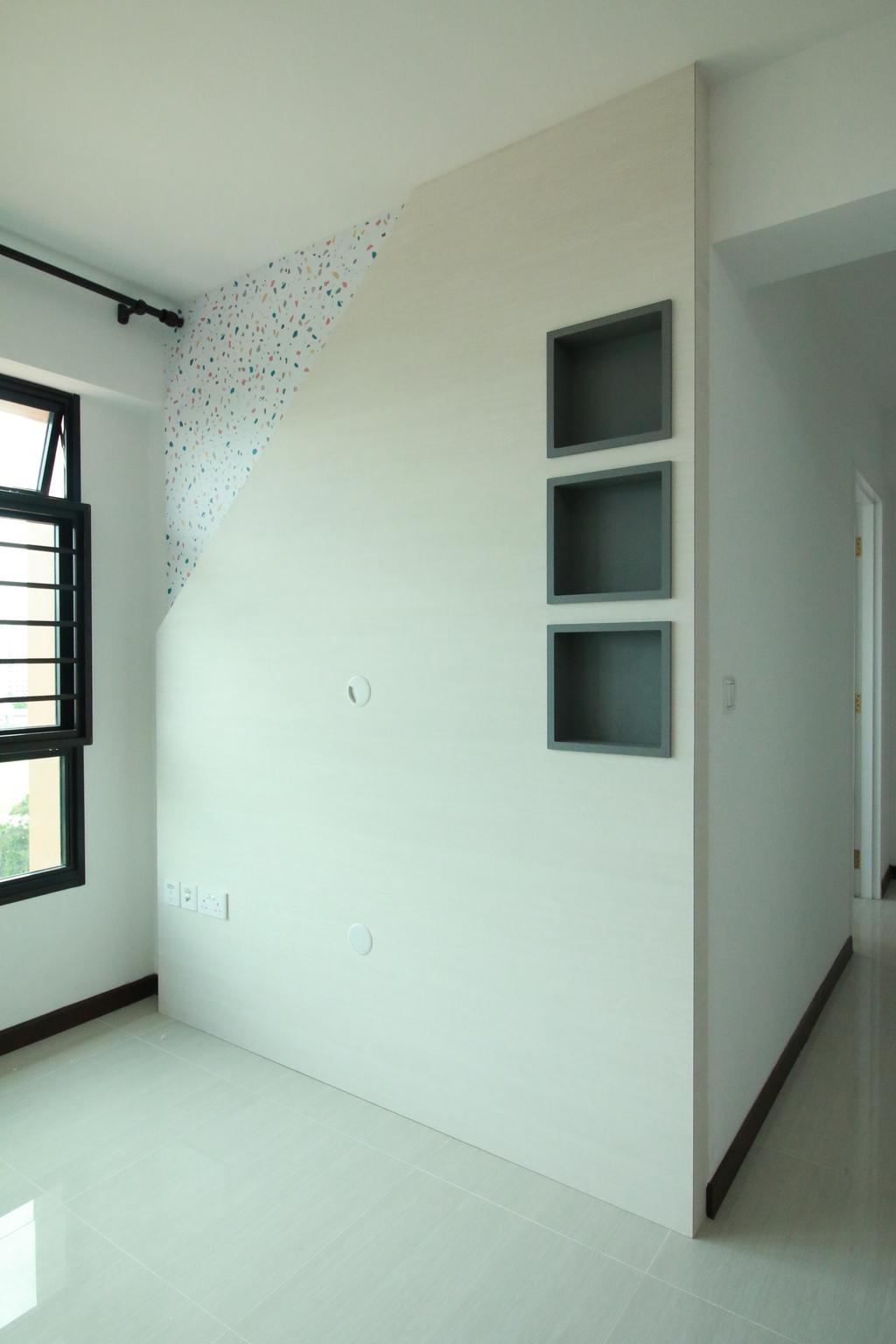 Modern, HDB, Buangkok Crescent, Interior Designer, Our Interior