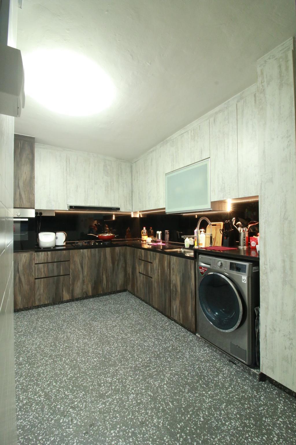Contemporary, HDB, Kitchen, Bukit Batok Street 52, Interior Designer, Our Interior