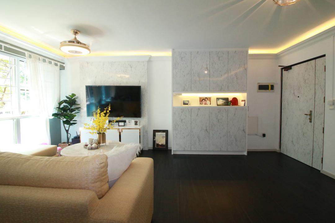 Commonwealth Drive Living Room Interior Design 10