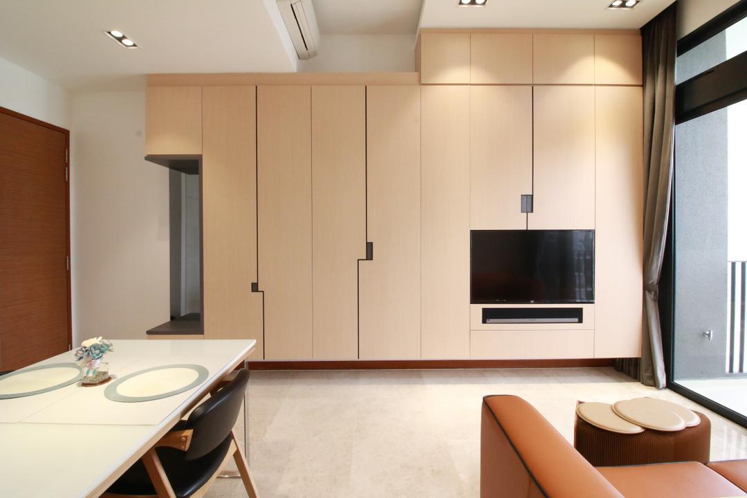 Eco Sanctuary Living Room Interior Design 2