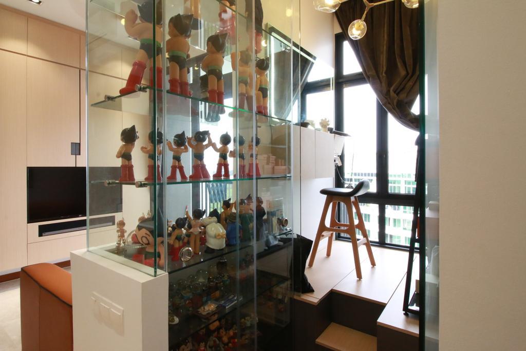 Contemporary, Condo, Living Room, Eco Sanctuary, Interior Designer, Our Interior