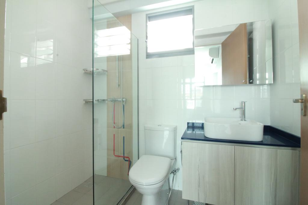 HDB, Bathroom, Edgedale Plains, Interior Designer, Our Interior