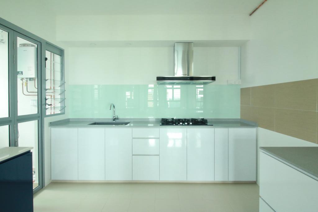 HDB, Kitchen, Edgedale Plains, Interior Designer, Our Interior