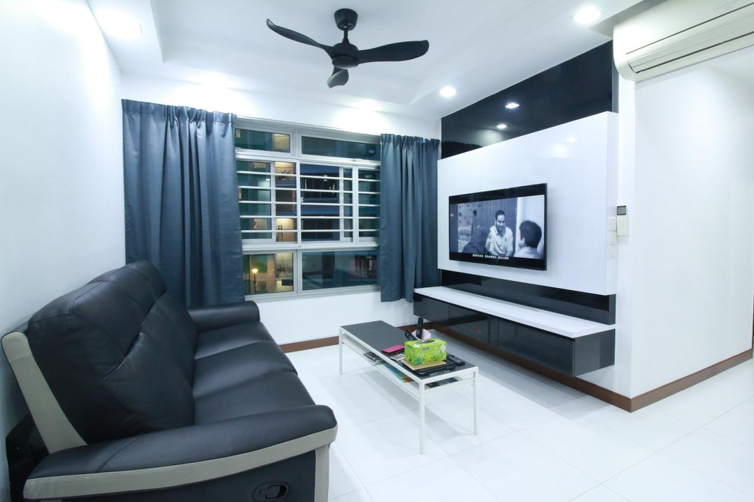 Punggol Central Living Room Interior Design 3