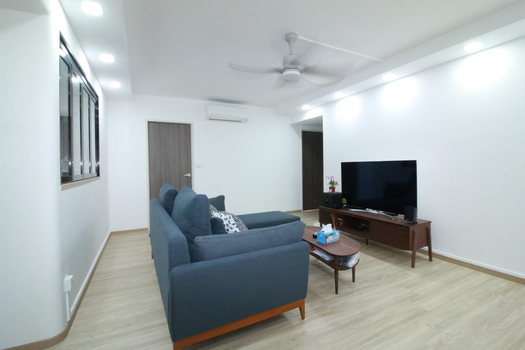 Contemporary, HDB, Living Room, St. George's Lane, Interior Designer, Our Interior