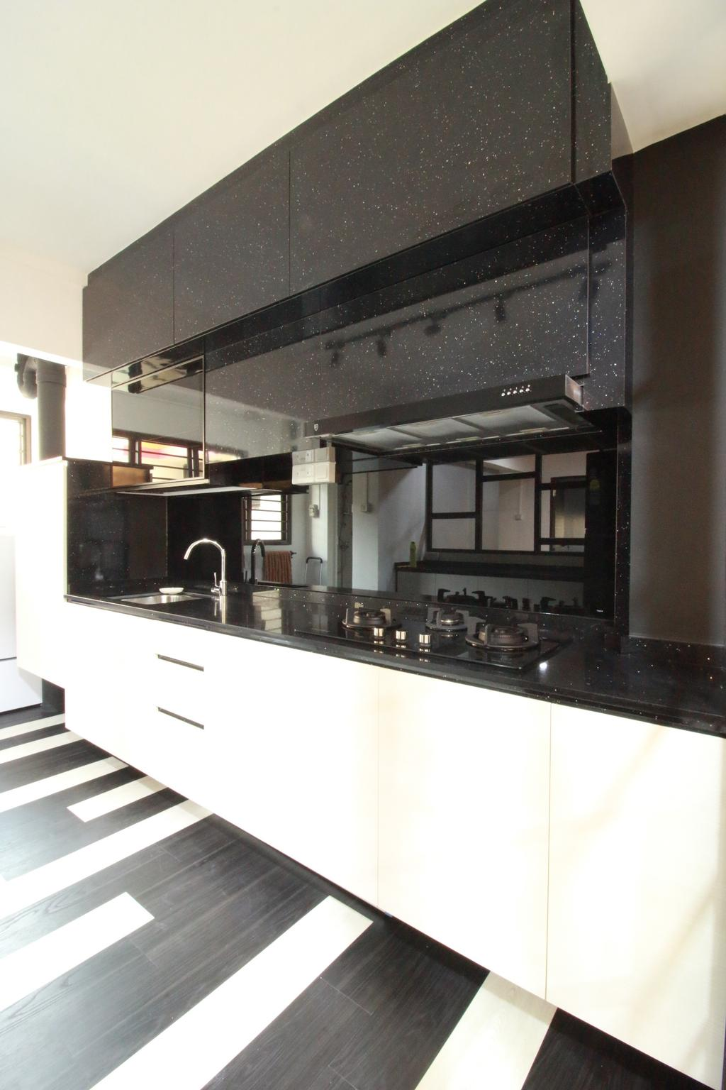 Contemporary, HDB, Woodlands Ring Road, Interior Designer, Our Interior