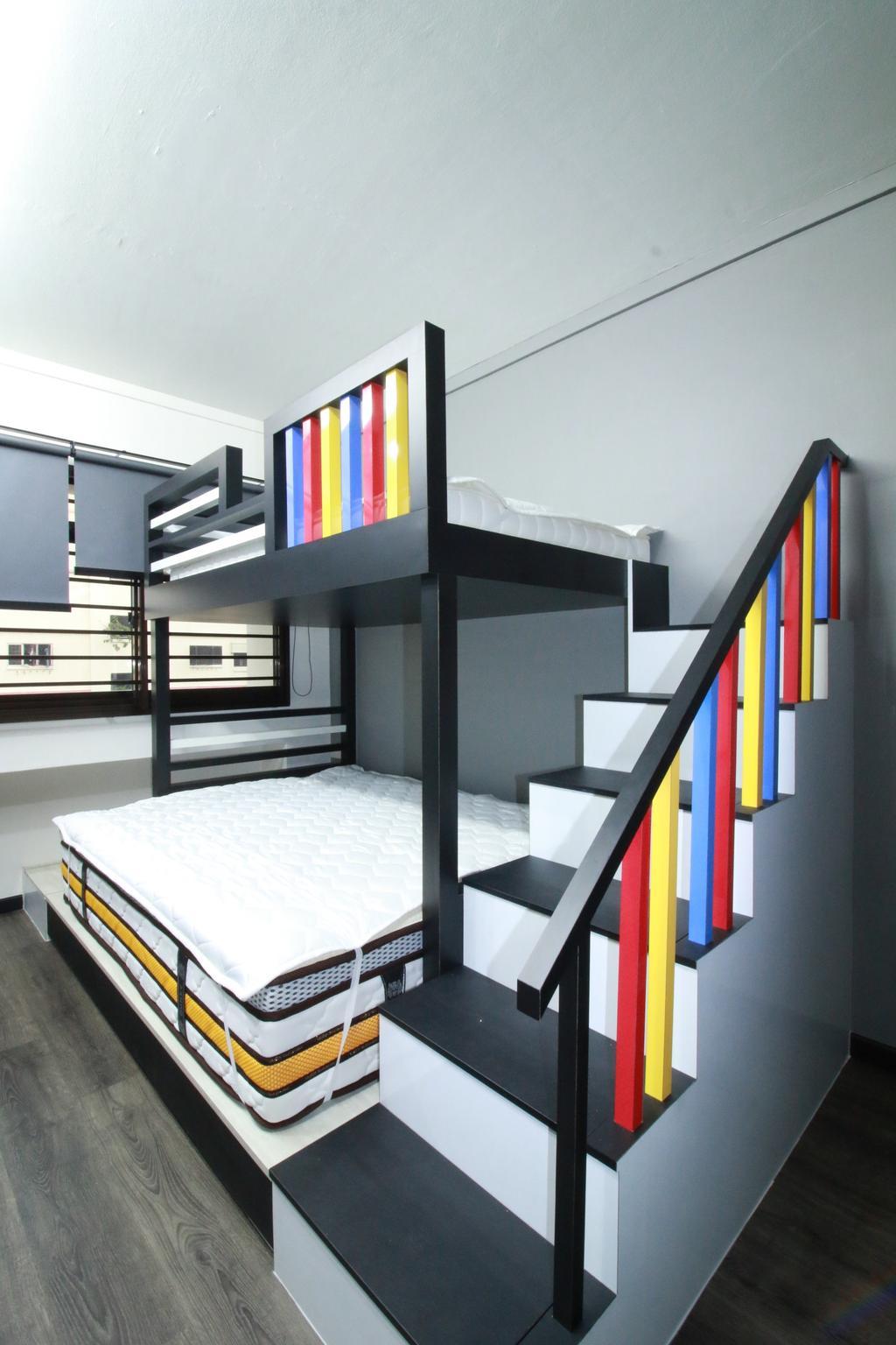 Contemporary, HDB, Bedroom, Woodlands Ring Road, Interior Designer, Our Interior