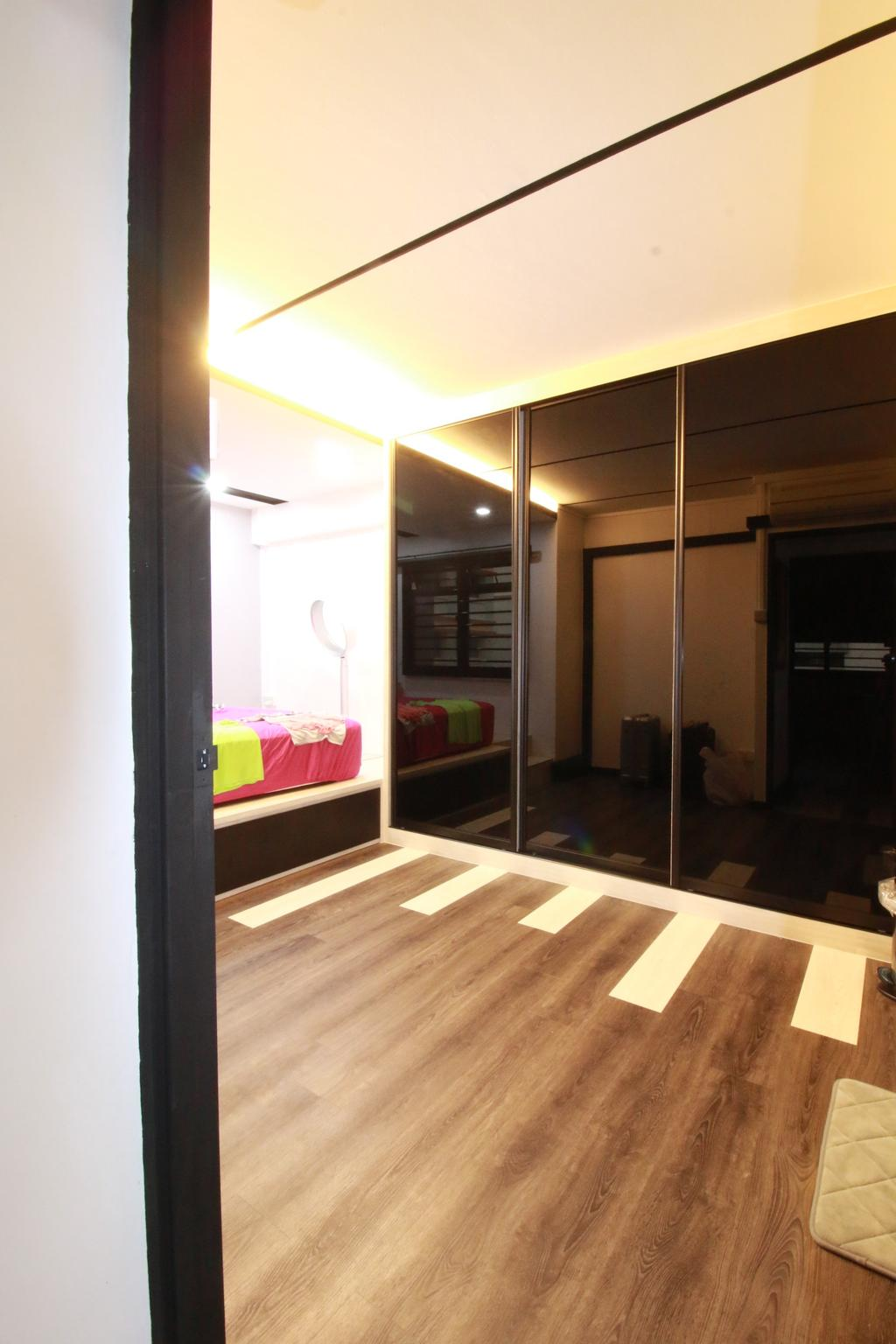 Contemporary, HDB, Woodlands Ring Road, Interior Designer, Our Interior