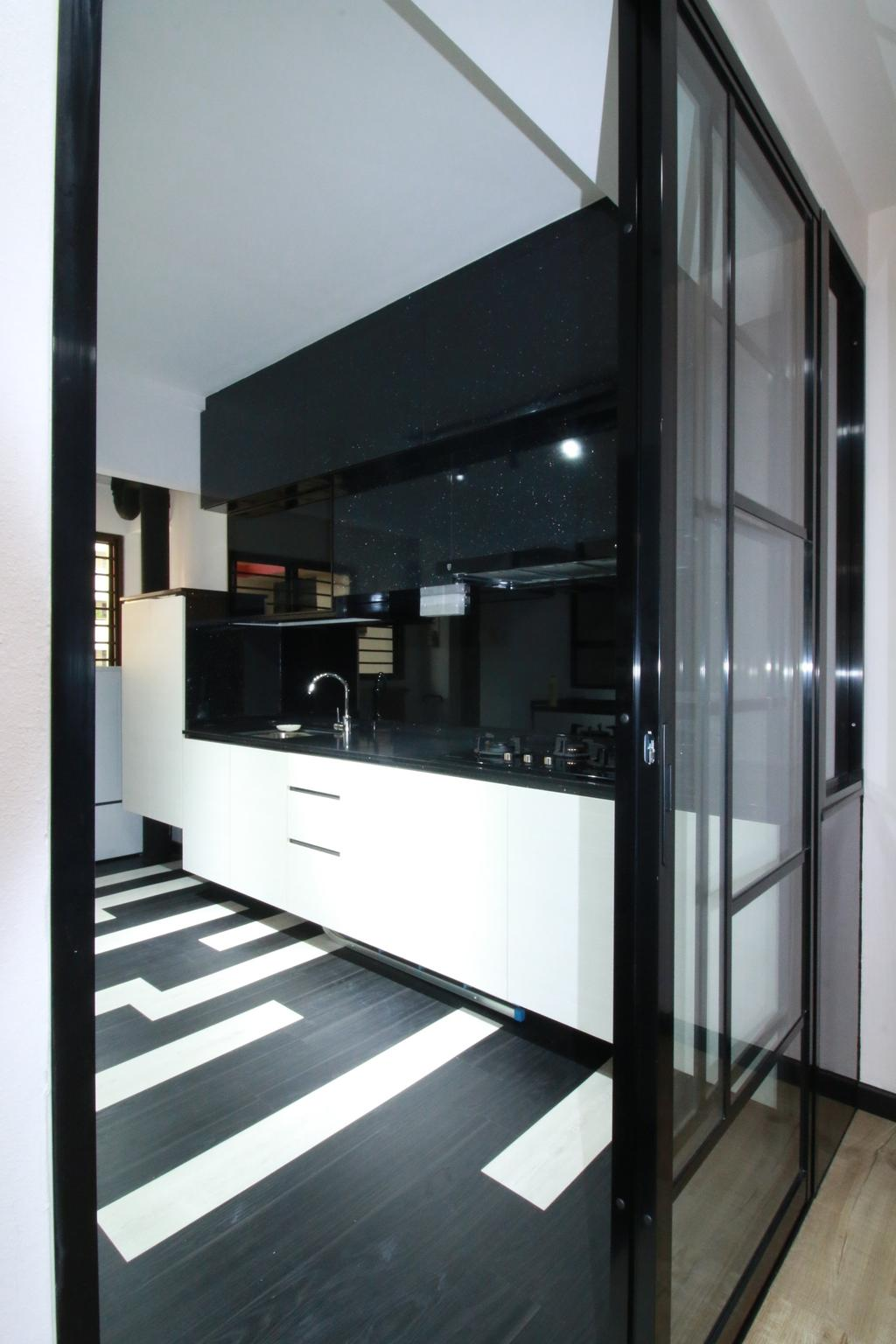 Contemporary, HDB, Kitchen, Woodlands Ring Road, Interior Designer, Our Interior