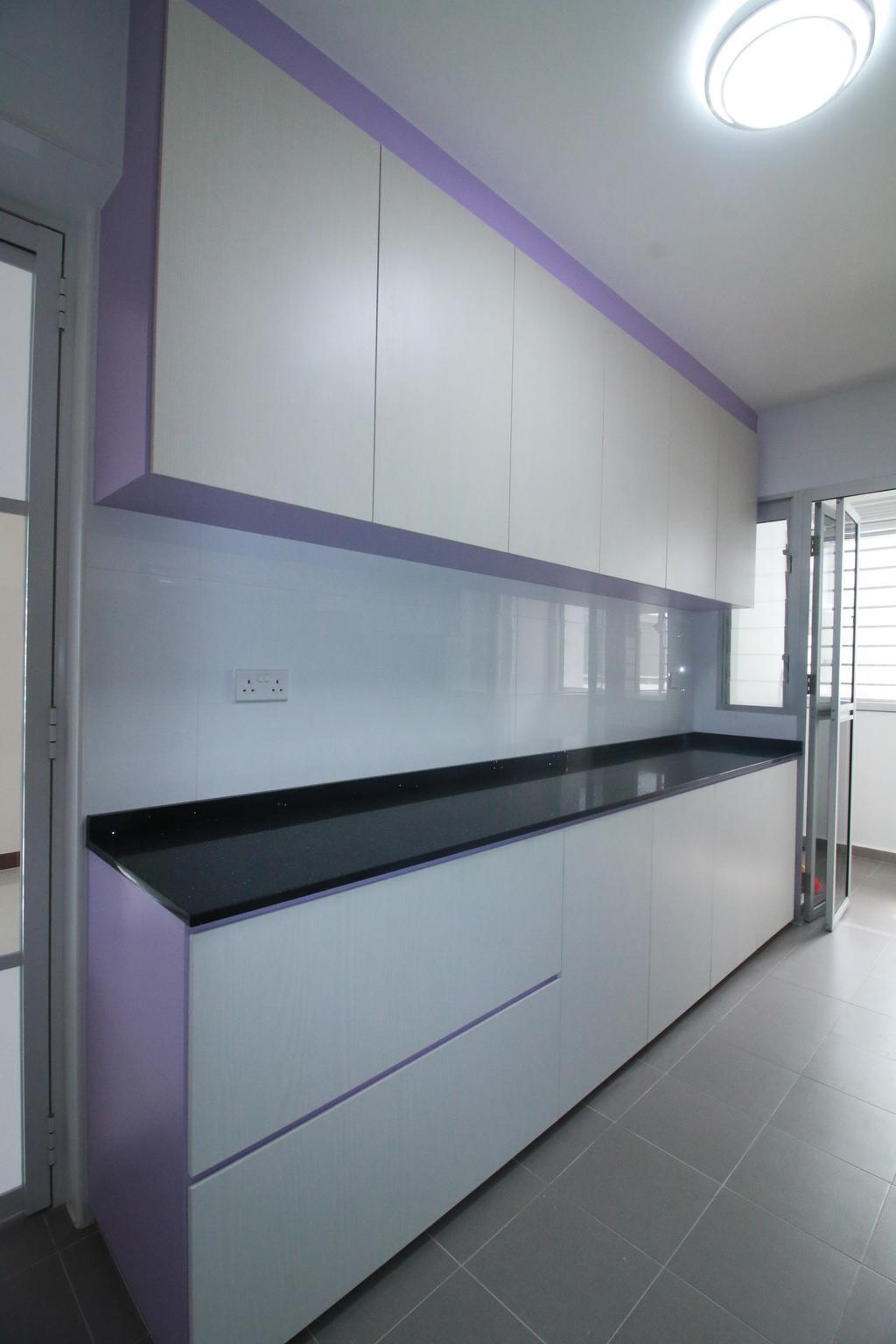 Contemporary, HDB, Kitchen, Woodlands Rise, Interior Designer, Our Interior