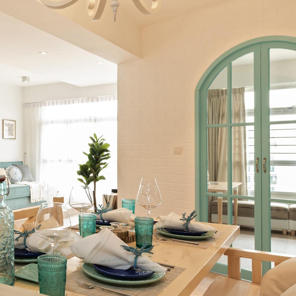 Condo, Dining Room, Bayfront View, Interior Designer, Mr Shopper Studio