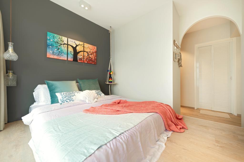 Condo, Bedroom, Bayfront View, Interior Designer, Mr Shopper Studio