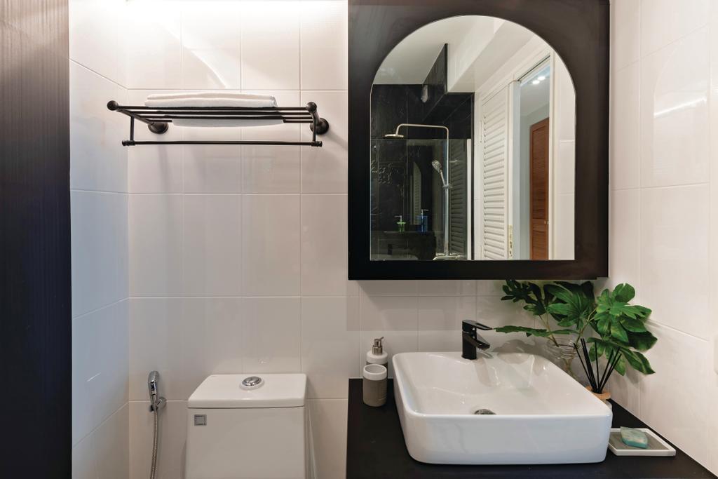 Condo, Bathroom, Bayfront View, Interior Designer, Mr Shopper Studio