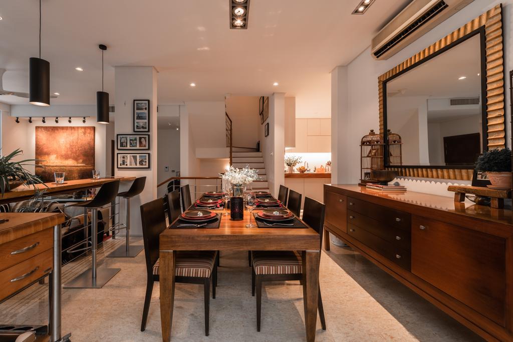 Contemporary, Landed, Dining Room, Holland Road, Interior Designer, Mr Shopper Studio