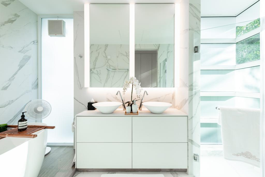 Contemporary, Landed, Bathroom, Holland Road, Interior Designer, Mr Shopper Studio